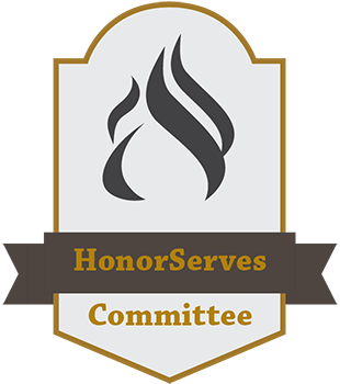 HonorServes shield