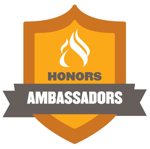 Honors Ambassadors Shield
