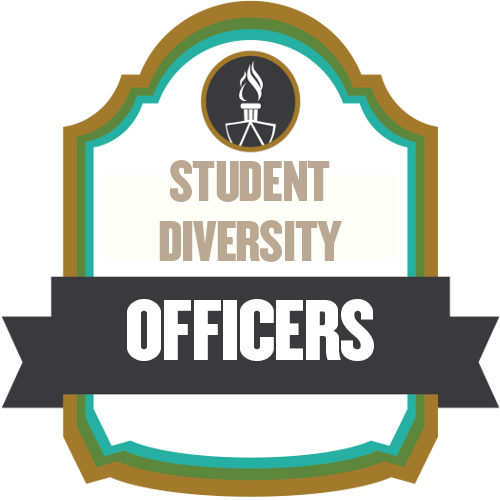 Student Diversity Officers shield