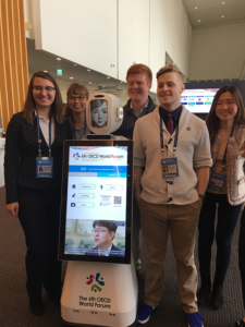 OECD Students and Robot